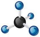 3d Methane Molecule
